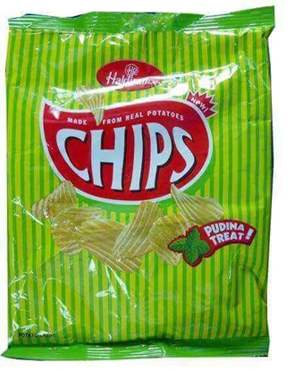 Picture of Haldiram Potato Chips Pudina Treat - 42.5 Gms