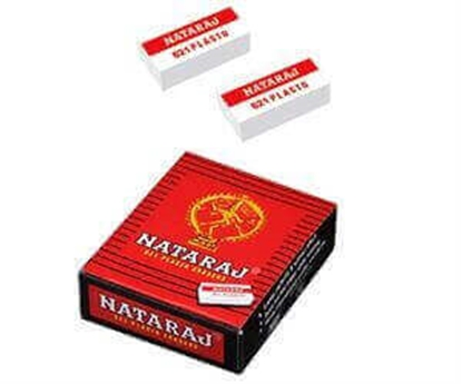 Picture of NATARAJ - 621 Plasto Erasers - Pack of 20