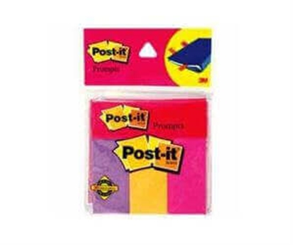 "Picture of Post it - Color Prompts 1"" x 3"" x 3 colours x 80 sheets"