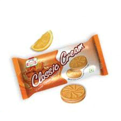 Picture of Priyagold Classic Cream Biscuits Orange - 100 Gm Pouch