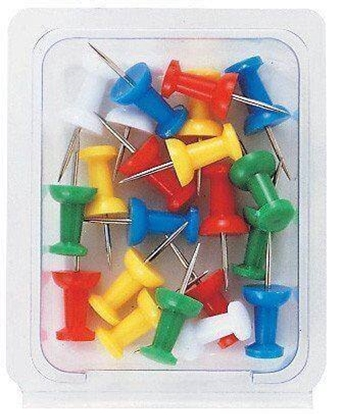 Picture of Thumb Tacks Push Pins - 1 Pack