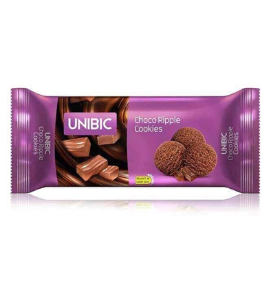 Picture of Unibic Choco Ripple Cookies - 75 Gm Pouch