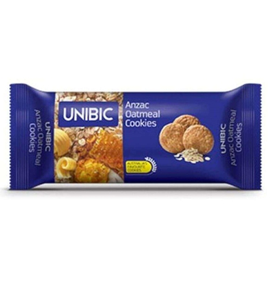 Picture of Unibic Honey Oatmeal Cookies - 75 Gm Pouch