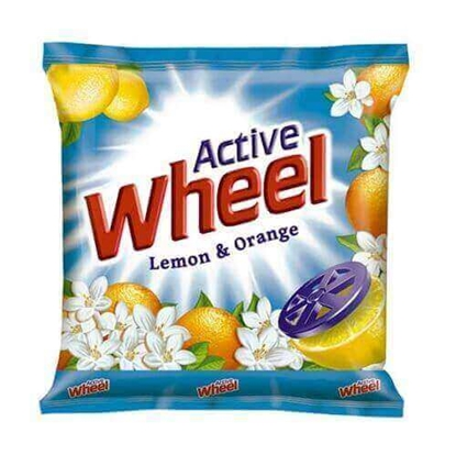 Picture of Wheel Detergent Powder Lemon  Orange - 1 Kg Pouch