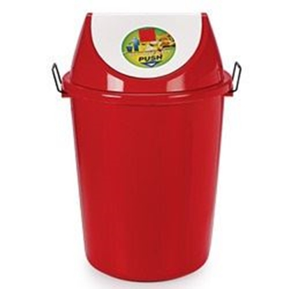 Picture of Plastic Dustbin With Swivel Lid - 40 Ltr