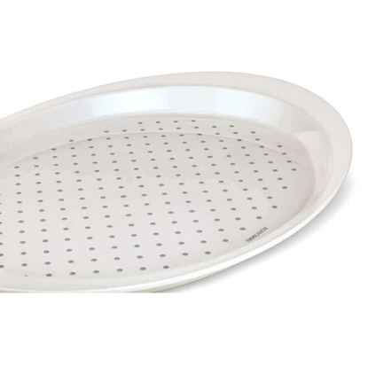 Freelance Anti Slip Plastic Serving Tray Medium White