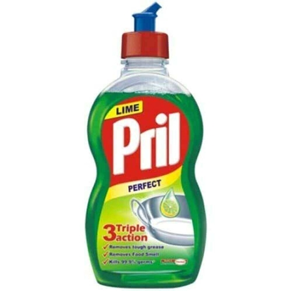 Pril Utensil Cleaner Lime - 425 Ml Bottle