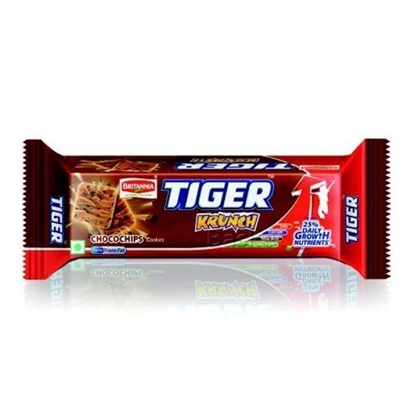 Britannia Tiger Krunch Chocochips - 70 Gm Pouch