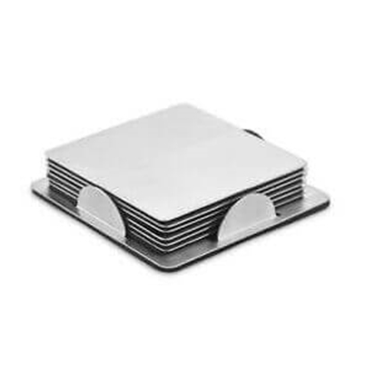Elegante Steel Coaster - 6 PCS