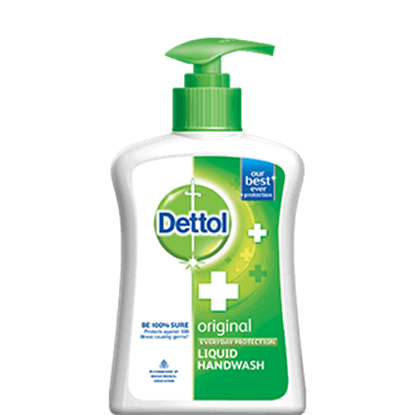 Dettol Original Liquid Handwash Pump 215 Ml