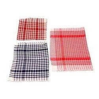 Picture of Checkered Cloth Mat - Set of 12