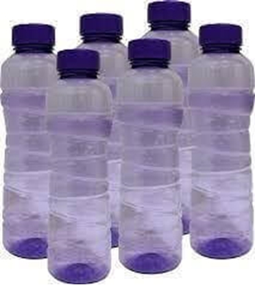 Picture of Milton Fridge Water Bottles - 1 Ltr (Pack Of 6)