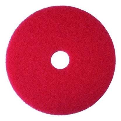 Red Floor Scrubbing Machine Pad