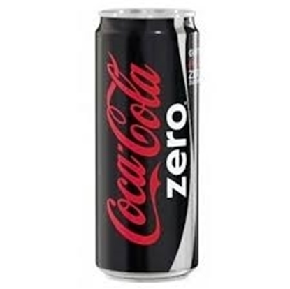 Coca Cola Coke Zero- 300 Ml Can