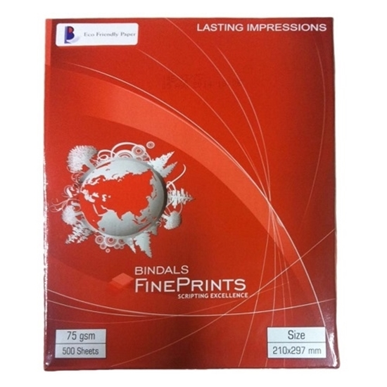Bindal Paper A4 Size 75 GSM - (500 Sheets)