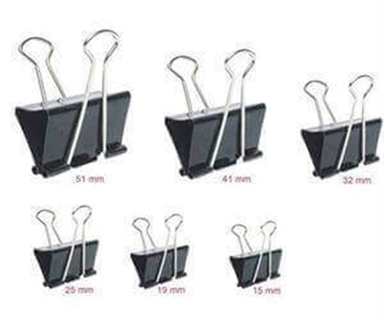 Picture of Binder Clips 15 mm (Doz)