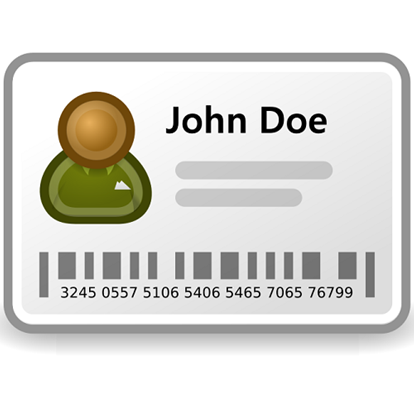 Printed Employee ID Cards