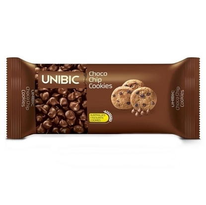 Unibic Choco Chips Cookies - 75 Gm Pouch