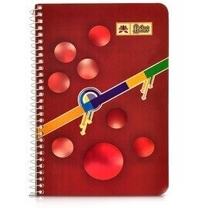 Picture of Hans - A5 Spiral Notebook - No. 4 160 Pages - Pack of 5