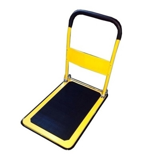 Platform Trolley Steel Base 2'X3' With Foldable Handle