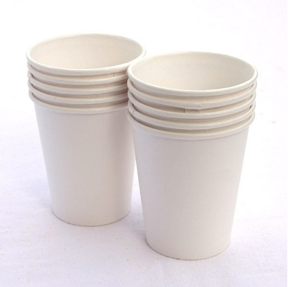 Plain Paper Tea Cups 150 Ml - Pack Of 100