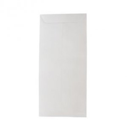 White Cheque Size Envelope 10 X 4 - Pack Of 25