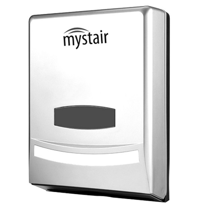 Mystair M-Fold Hand Towel Dispenser White