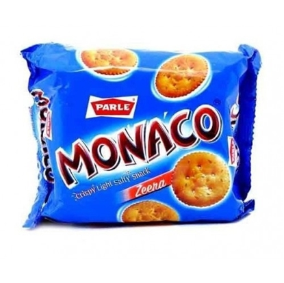 Parle Salted Biscuits Monaco Zeera - 70 Gm Pouch