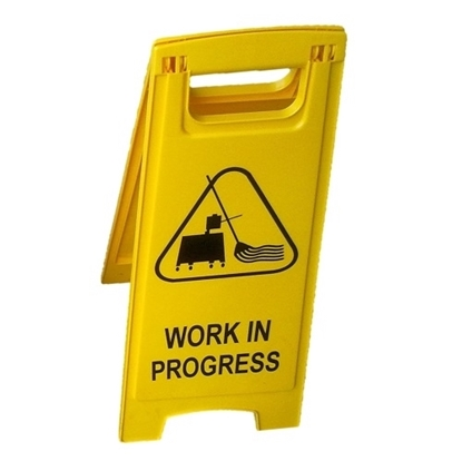 Safety Work Floor Signage - Work In Progress