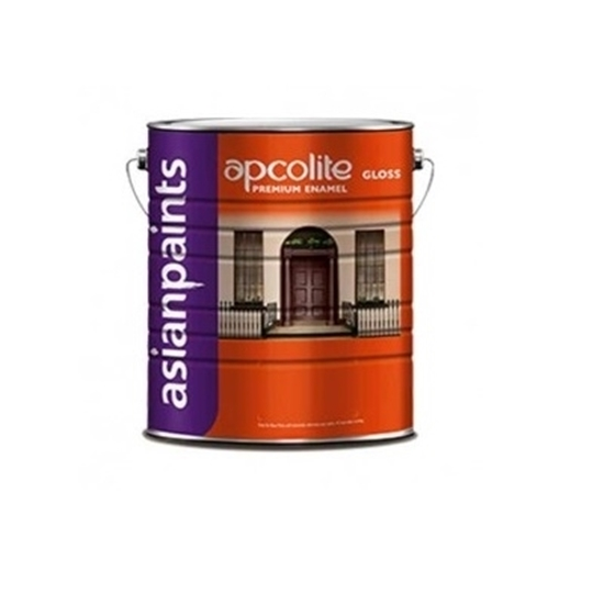 Asian Paints Apcolite Premium Gloss Enamel Red 4 Ltr