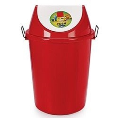 Picture of Plastic Dustbin With Swivel Lid - 60 Ltr