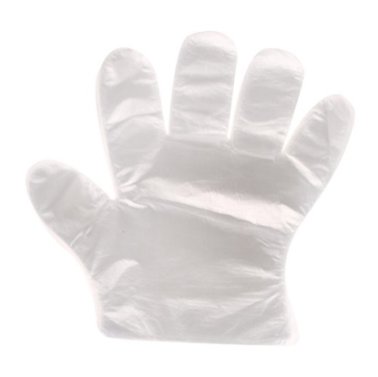 Disposable Gloves One-off Plastic Gloves - Pack of 100