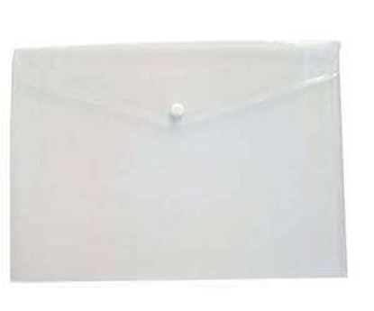 Picture of My Clear Bag File - F/C (Button Closer) (Pack of 12)