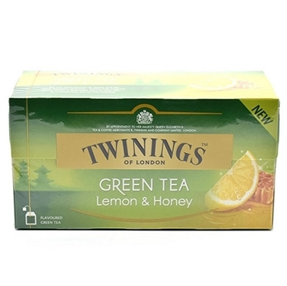 Twinings Green Tea Bags Lemon and Honey- Pack Of 100