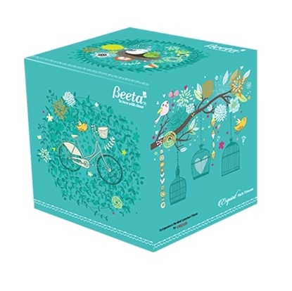 Beeta Exquisit Face Tissues Cube Box