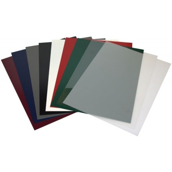 A4 Opaque Cover Sheets for Binding - Pack of 100