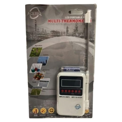 Aceteq Multi-Stem LCD Thermometer