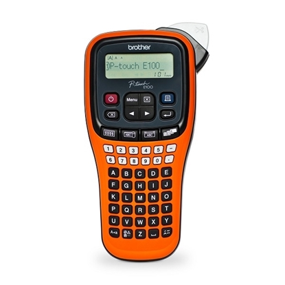 BROTHER P-Touch E100VP Handheld Label Printer