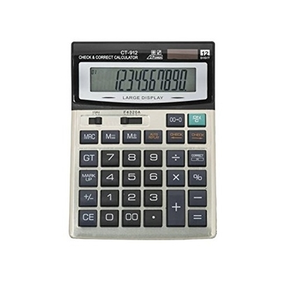 CT912 Desktop Calculator 12 Digit Basic