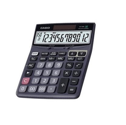 Casio Desktop Calculator 12 Digit DJ-120D